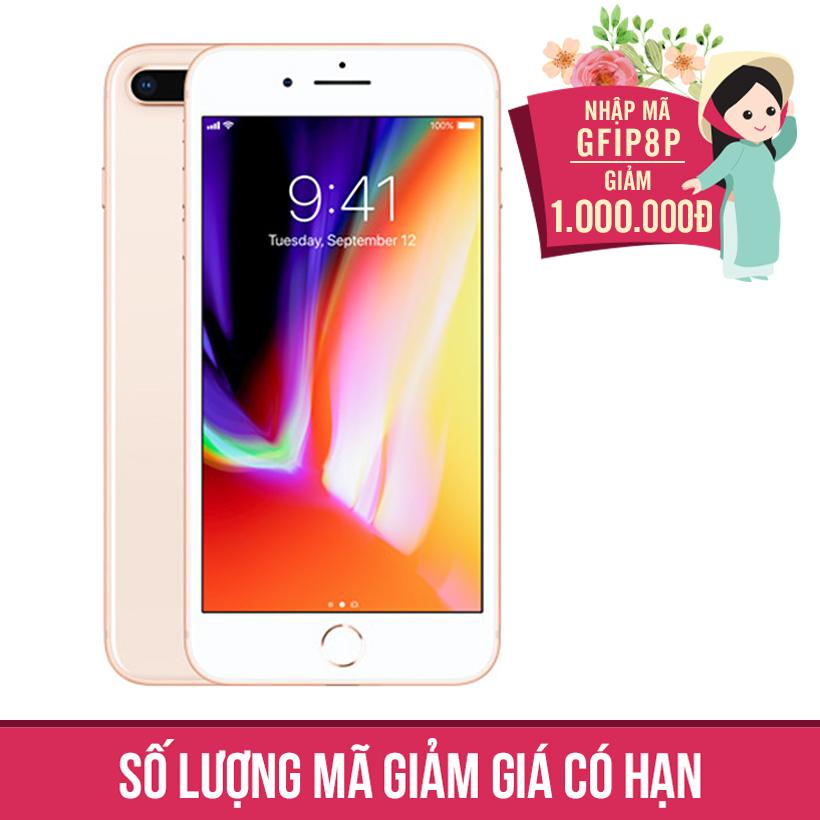 Giảm ngay 1Triệu khi mua Apple iPhone 8 Plus 64GB Vàng (Hàng nhập khẩu)