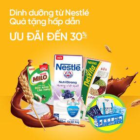 Dinh dưỡng Nestle - Ưu đãi đến 30%