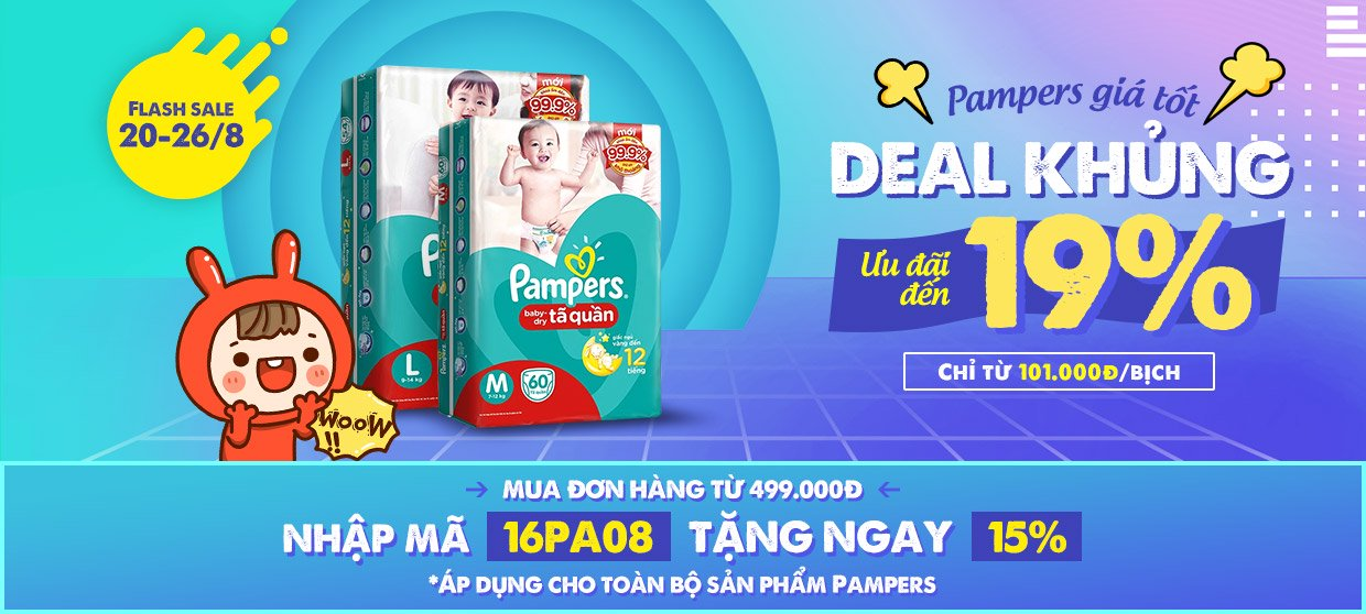Pampers giá tốt deal khủng