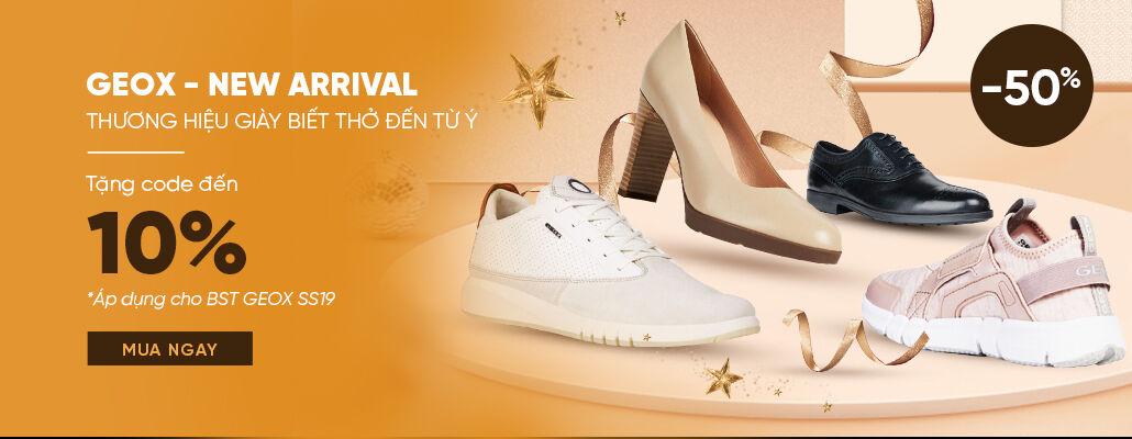 Giày Geox chính hãng - Ưu đãi hấp dẫn