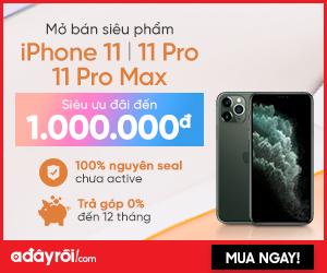 Chính thức mở bán iPhone 11