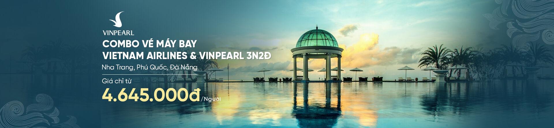 Combo Vietnam Airline + Vinpearl