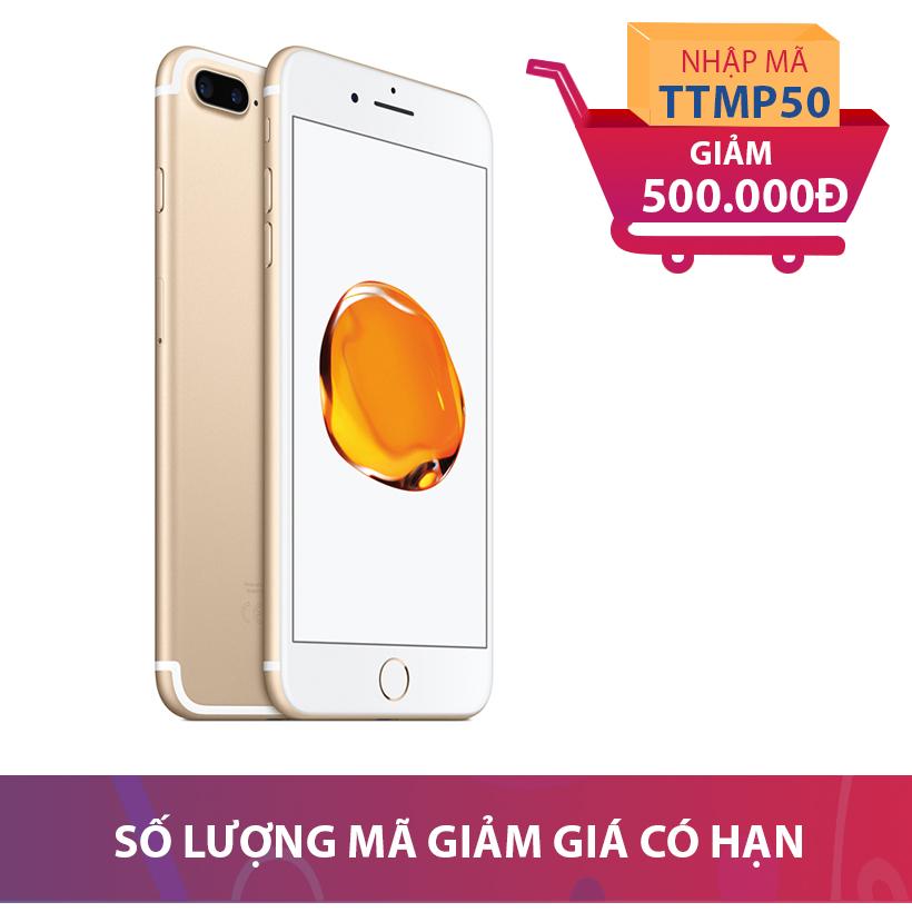 Apple iPhone 7 Plus 128GB Vàng kim (Hàng chính hãng VN/A) Khuyến Mại Hấp Dẫn