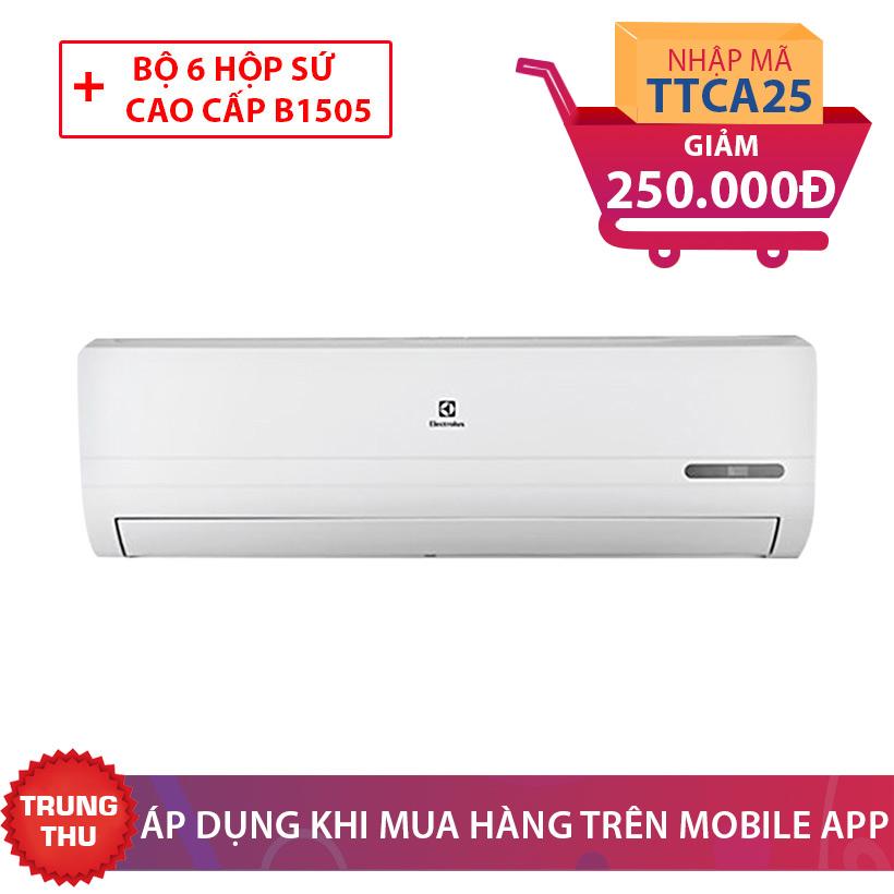 Giảm giá 250.000 cùng quà tặng hấp dẫn khi mua máy lạnh Electrolux ESM09CRF