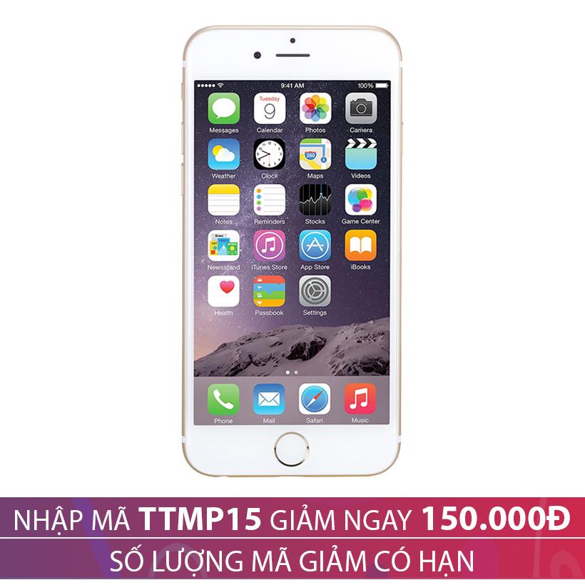 Giảm ngay 150.000 khi mua Apple iPhone 6 32GB Vàng