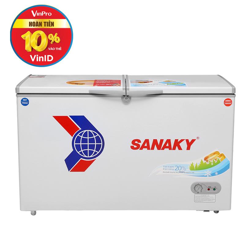 Giảm 150.000 khi mua Tủ đông mát Sanaky VH-4099W1