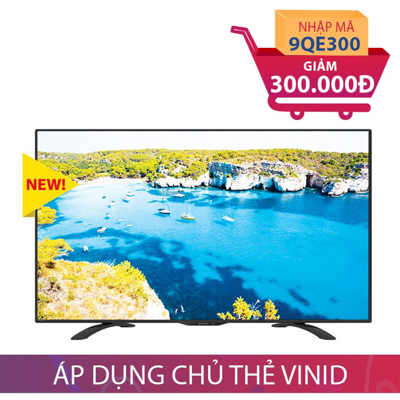 Giảm ngay 300K khi mua Tivi LED Full HD Sharp 60 inch LC-60LE275X