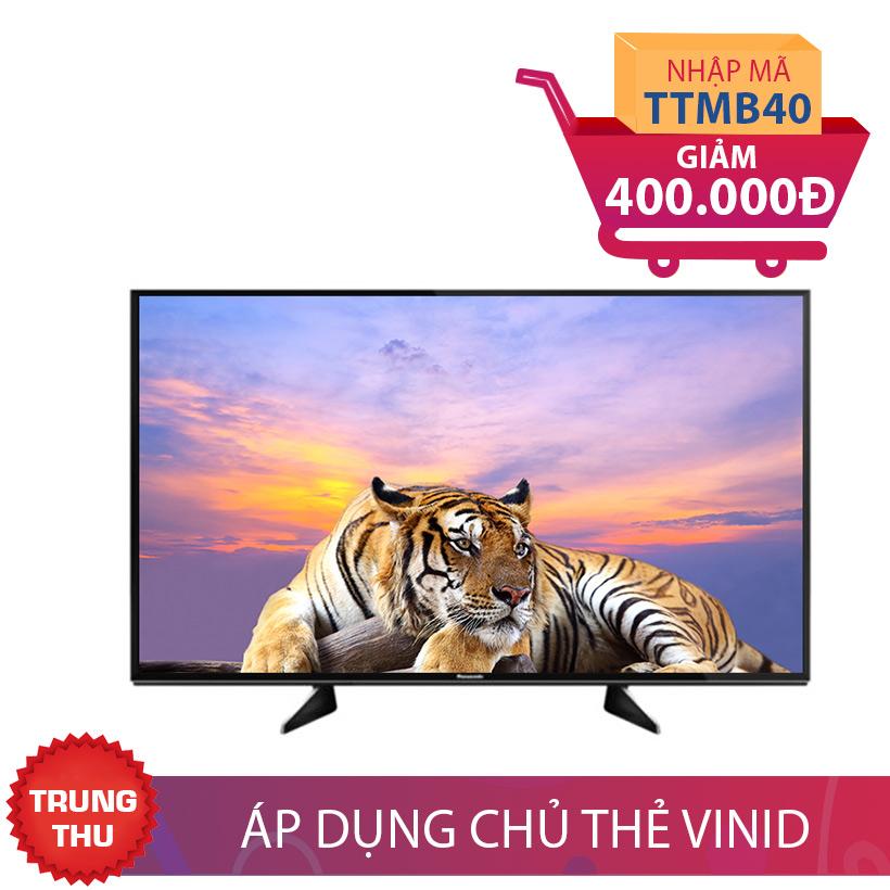 Giảm ngay 400K khi mua Smart TV 4K Panasonic TH-49EX600V 49 inch