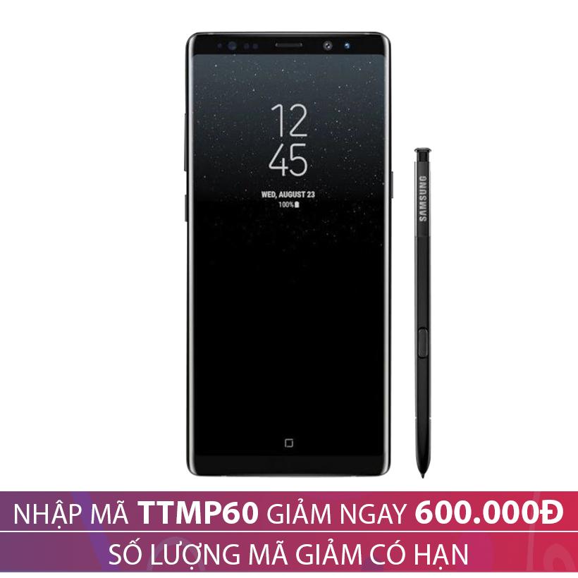 Giảm 600.000 khi mua Samsung Galaxy Note 8 6GB/64GB - Đen (Hàng nhập khẩu Hàn Quốc)