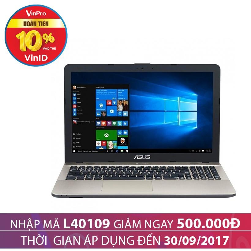 Giảm 500K khi mua Laptop Asus X541UA-GO508D 15.6 inches Đen