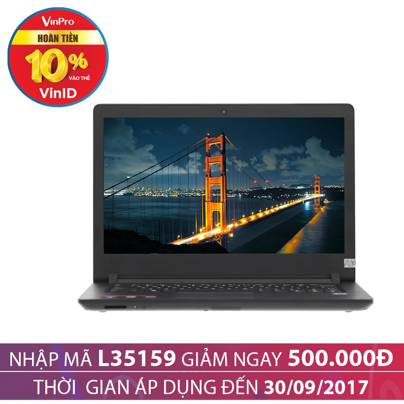 Giảm giá 500K khi mua Laptop Lenovo IdeaPad 110-14ISK 80UC006AVN 14 inch (Đen)