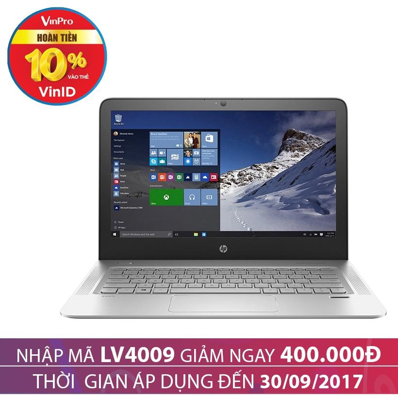 Giảm giá 400K  khi mua Laptop HP Envy 13-d020TU P6M19PA 13.3 inches Bạc
