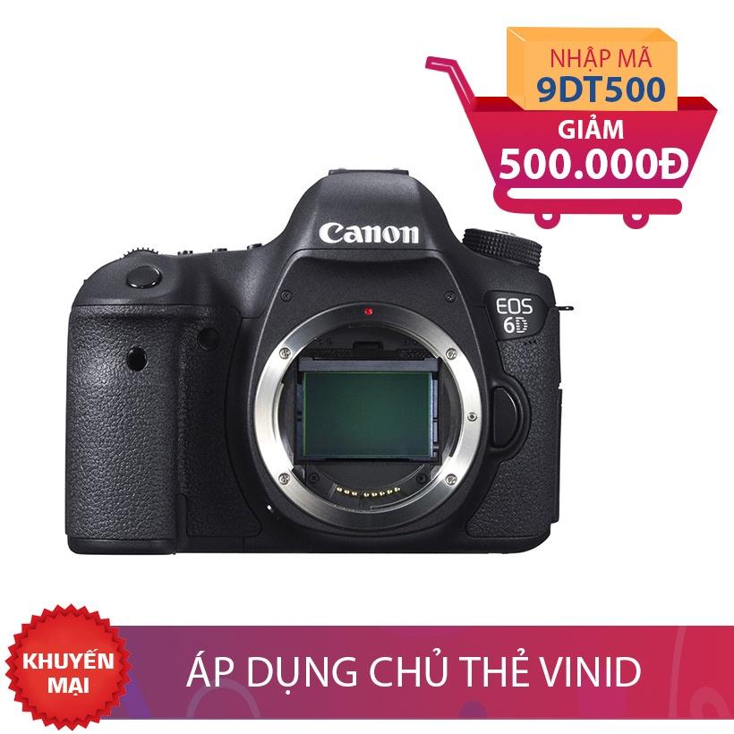 Máy ảnh SLR Canon EOS 6D Body Khuyến Mại Siêu Sốc