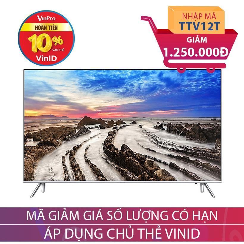 Smart TV Premium UHD Samsung 55 inch UA55MU7000KXXV Khuyến Mại