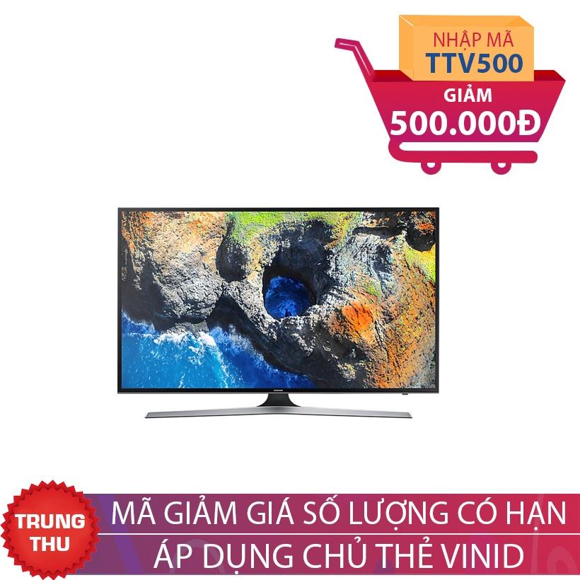 Smart TV 4K UHD Samsung 40 inch 40MU6100 Khuyến Mại Tháng 9