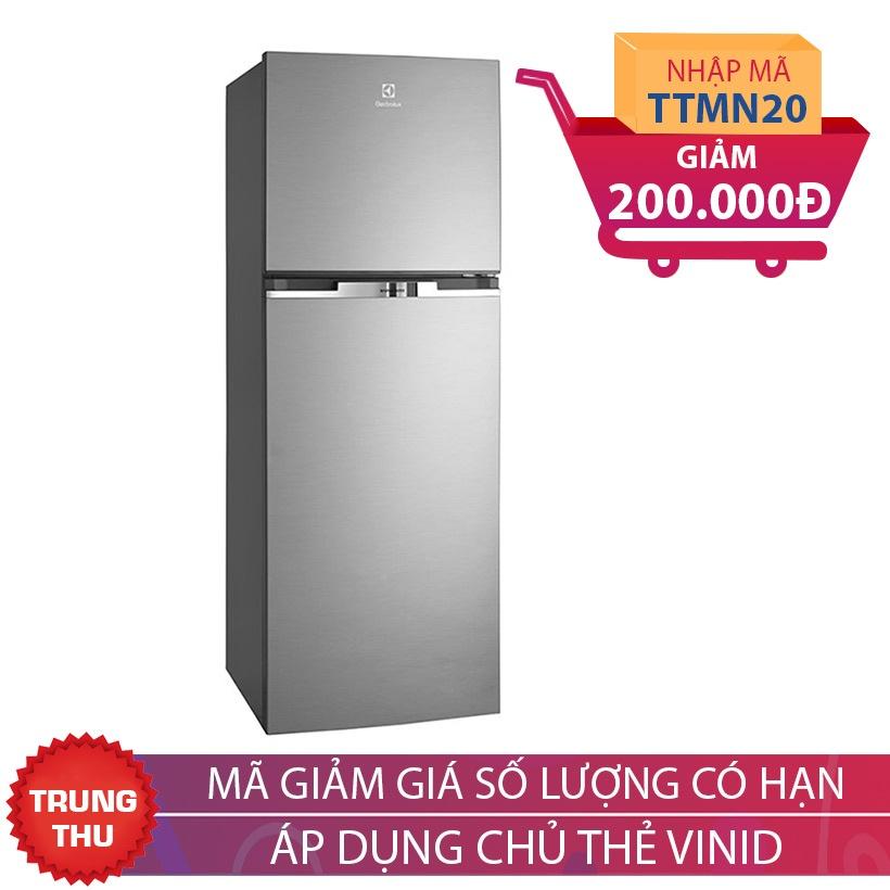Giảm 200K khi mua Tủ lạnh Electrolux ETB2300MG, 246 lít, Inverter