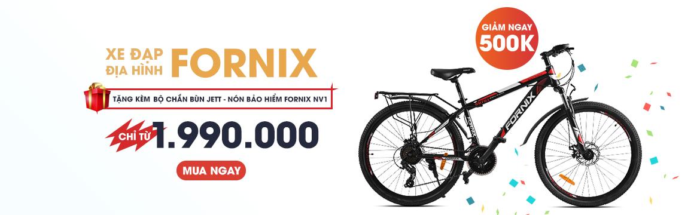 Xe đạp địa hình Fornix giá chỉ từ 1.990.000Đ