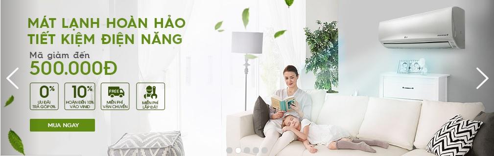 Giảm giá lên đến 500.000 cho mặt hàng điện gia dụng VinPro