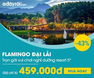 Flamingo: Vui chơi và nghỉ dưỡng tại Resort 5* Ưu đãi đến 46%