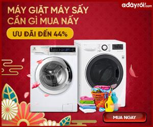 Máy giặt máy sấy, Tủ sấy quần áo - Ưu đãi đến 44%