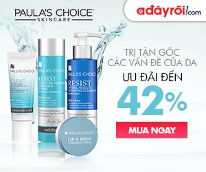 Paula's Choice – Ưu đãi đến 42%