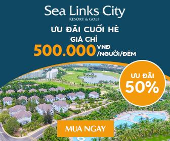 Sea links biệt thự 5* ưu đãi cuối hè - Chỉ 500.000đ/người/đêm