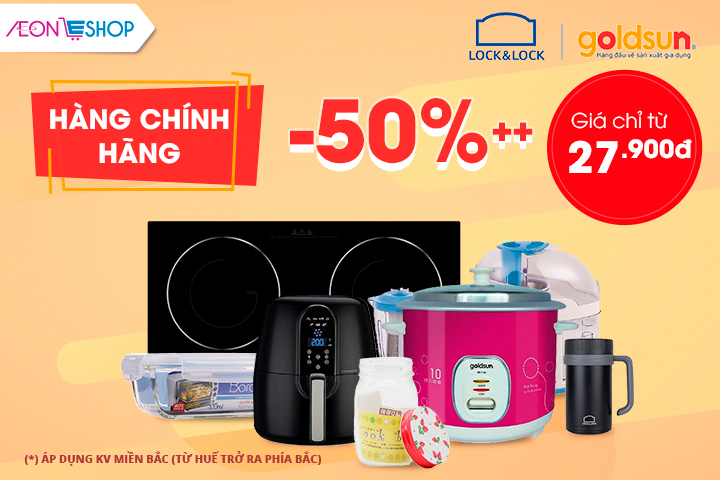 Brand Day - Lock & Lock và GoldSun