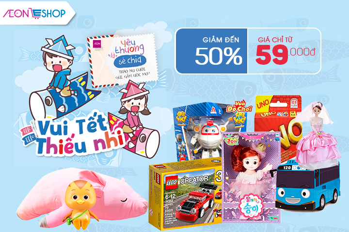 Happy Children' Day - giảm đến 50%