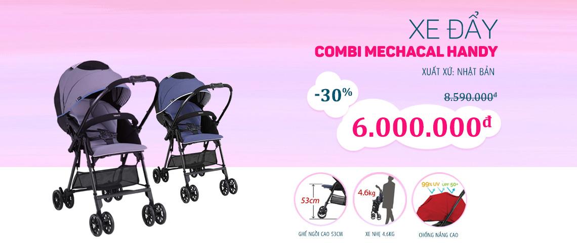Xe đẩy Combi  - giảm đến 30%