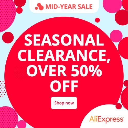 MID-YEAR SALE -giảm giá tới 50%
