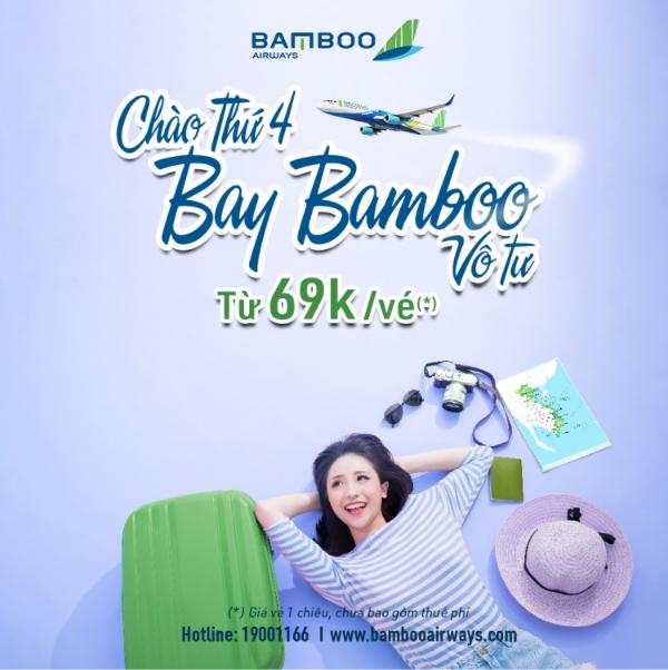 Chào thứ 4 - Bay Bamboo vô tư
