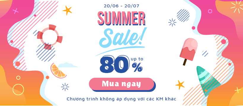 Summer Sale Up To 80%