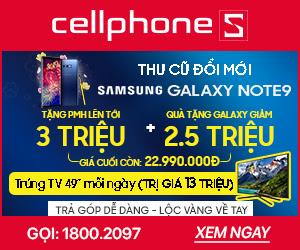 THU CŨ ĐỔI MỚI SAMSUNG GALAXY NOTE 9 512GB