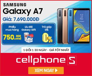 Samsung Galaxy A7 (2018) Chính hãng khuyến mại tại Hà Nội giá chỉ 7.690.000Đ