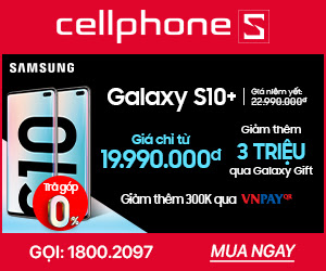 Galaxy S10 Plus Giảm 3 triệu qua Galaxy Gift | Tặng thêm Buds + Ốp Marvel áp dụng Bản 1TB