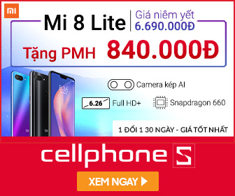 Xiaomi Mi 8 Lite 4GB 64GB - giá hấp dẫn tại HCM