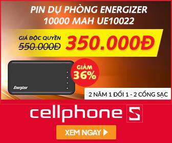 PIN DỰ PHÒNG Mỹ 10.000 mAh giá sốc chỉ 350K