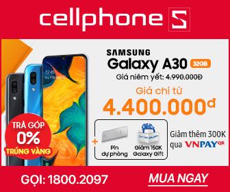 SAMSUNG GALAXY A30 3GB 32GB Tặng PDP và giảm 150k qua Galaxy Gift