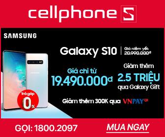 Galaxy S10 Giảm 2,5 triệu qua Galaxy Gift