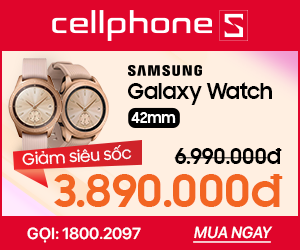 Hotsales Samsung Galaxy Watch 42mm màu hồng
