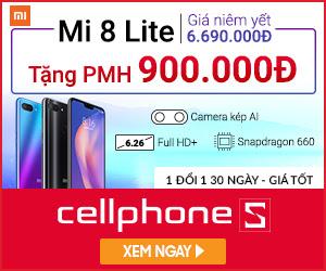 Xiaomi Mi 8 Lite 4GB 64GB - Ưu đãi hấp dẫn tại Hà Nội