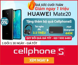 Giảm 1Triệu khi mua Huawei Mate 20