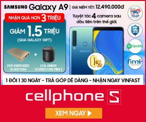 Thu cũ đổi mới Samsung A9 hoặc giảm 1.5 triệu qua galaxy gift