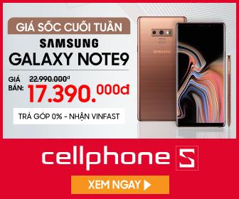 Hotsales Note 9 giảm ngay 3 triệu