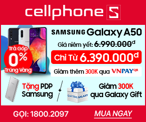 SAMSUNG GALAXY A50 Tặng PDP và giảm 300k Qua Galaxy Gift