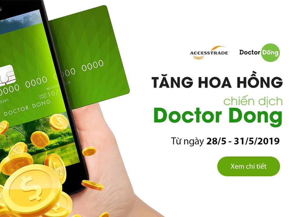DOCTOR DONG TĂNG HOA HỒNG CHO PUB TRONG 4 NGÀY LIÊN TIẾP