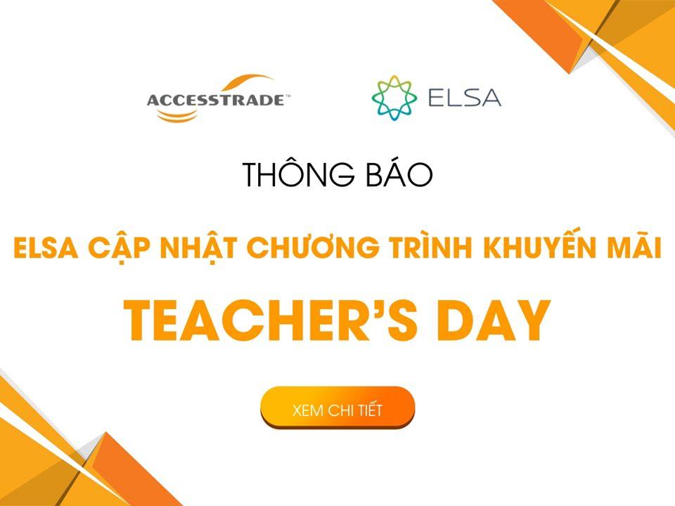 TEACHER'S DAY - GIẢM GIÁ HẤP DẪN