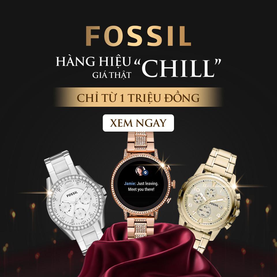 FOSSIL - HÀNG HIỆU Giá chỉ từ 1 triệu