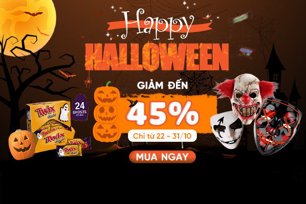 Happy Halloween - Giảm đến 45%