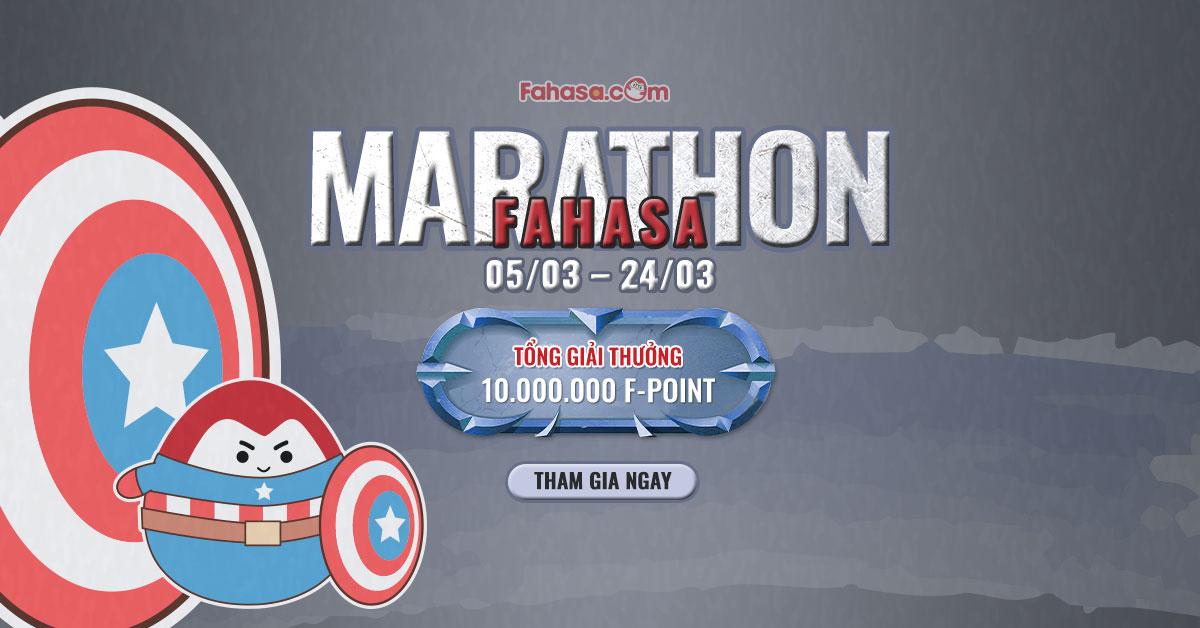 Fahasa Marathon - Tổng giải thưởng cực hấp dẫn